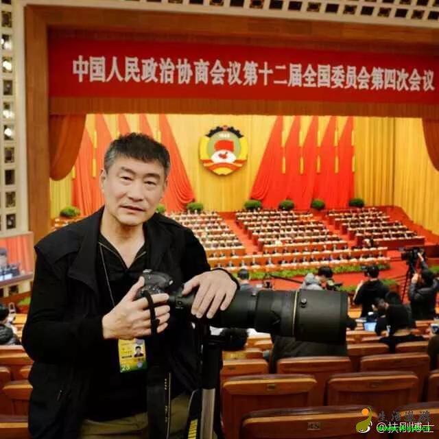 摄影大师俞宁向马玉柱长老发来祝福
